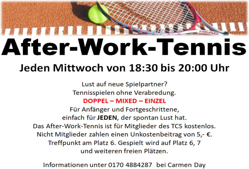After-work-tennis